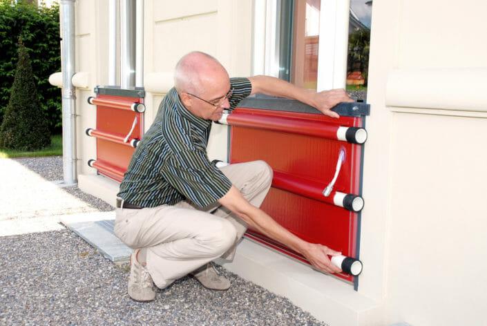Come montare le barriere gonfiabili Red