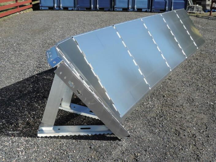 Paratia antialluvione in alluminio