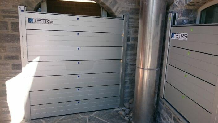 Protezione interni con barriere Tetris