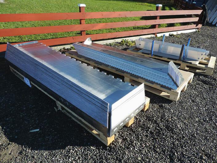 Sistemi in alluminio anti allagamento