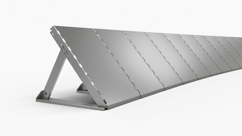 Barriere INero con struttura in alluminio