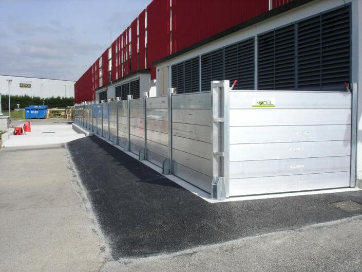 Barriere antiacqua Modul in zone industriali