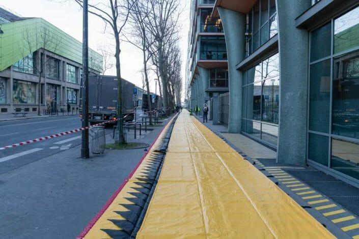 Barriere gonfiabili antialluvione