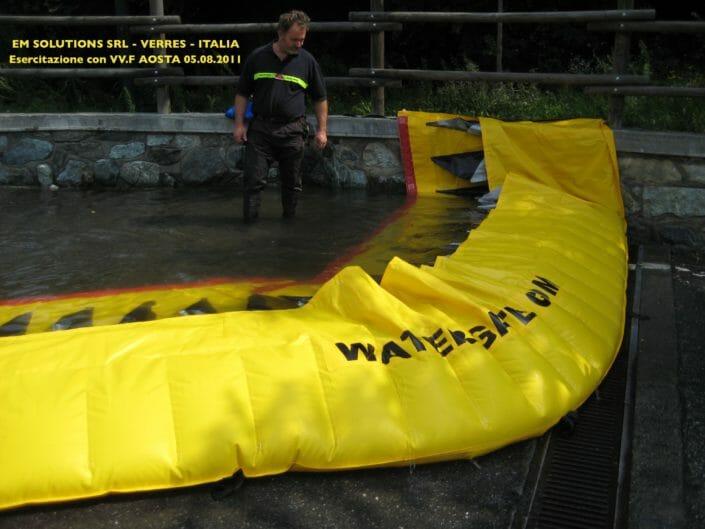 Funzionamento paratie Water Gate