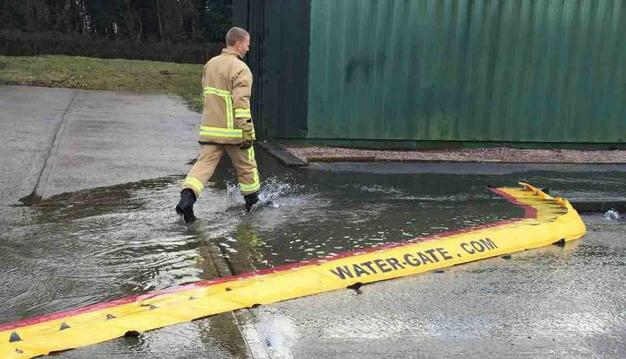 Montaggio sistema anti ruscellamento Water Gate